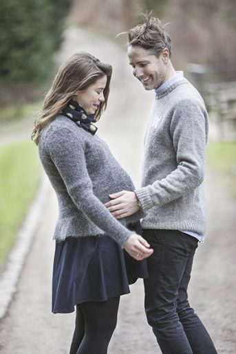 Thomas & Amanda Pregnancy Portraits
